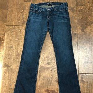 Lucky Brand Dark Denim Boot Size 10